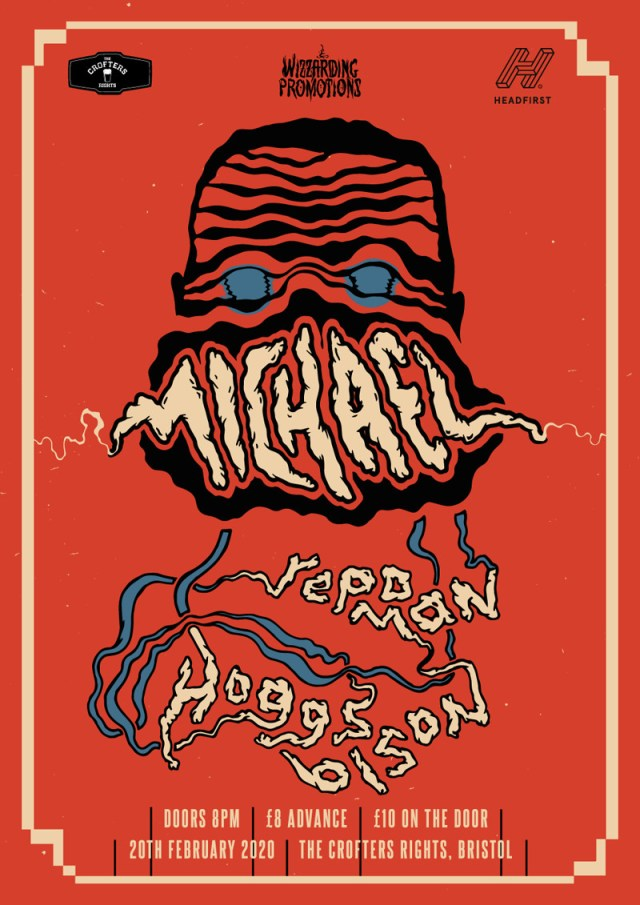Michael-Hoggs Bison-Repo Man Show Poster
