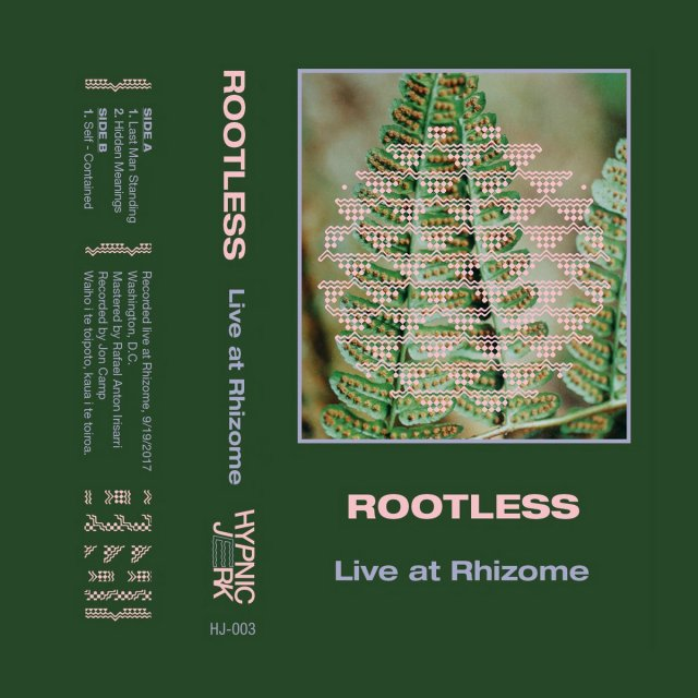 Rootless Live at Rhizome