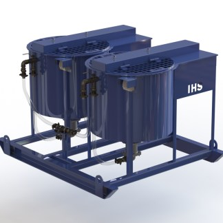IHS Twin Bowl Grout Pump