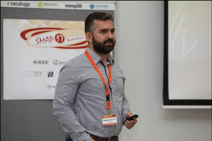Markos Konstantakis in SMAP 2017