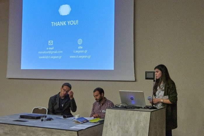 Themis Moraitou in ITN-DCH Final Conference on Digital Heritage