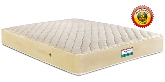 Normal Top King Size 78x72 6 Inch Bonnell Spring Mattress By Hypnos