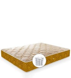 Single Size 75 X 48 8 Inches Thick Pocketed Spring Mattress