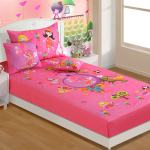 Buy Single Digital Print Baby Bed Sheet Set With 1 Pillow Cover By Swayam Online Kids Single Bedsheets Kids Single Bedsheets Kids Furniture Pepperfry Product