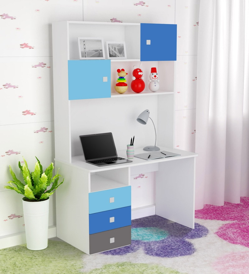 young america study table in multicolour