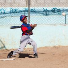 IIC Sosua Activities Baseball Boy