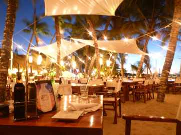 IIC Sosua Activities Cabarete Beach at night