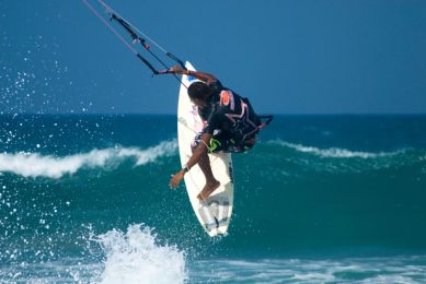 IIC Sosua Activities Kite surfer_Cabarete_DRtourism