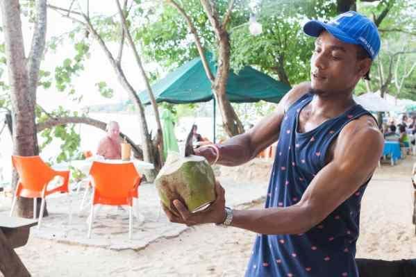IIC Sosua Activities_Food Coconut