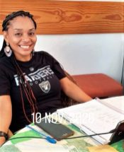 IIC teacher Julissa Puello gives Spanish language courses online