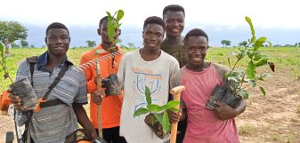 Reforesting Ghana with Click A Tree 041