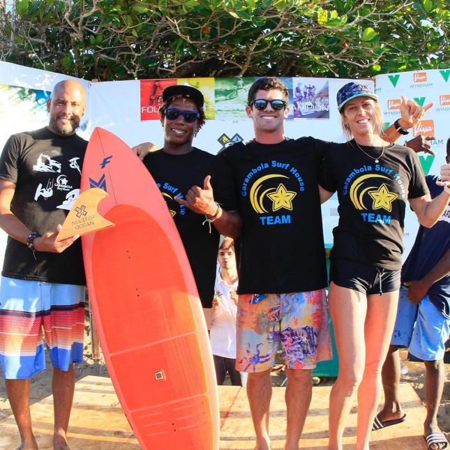 4 athletes from Team Carambola Surf House are the winners of the 2021 Master of the Ocean-contest in Cabarete, Dominican Republic