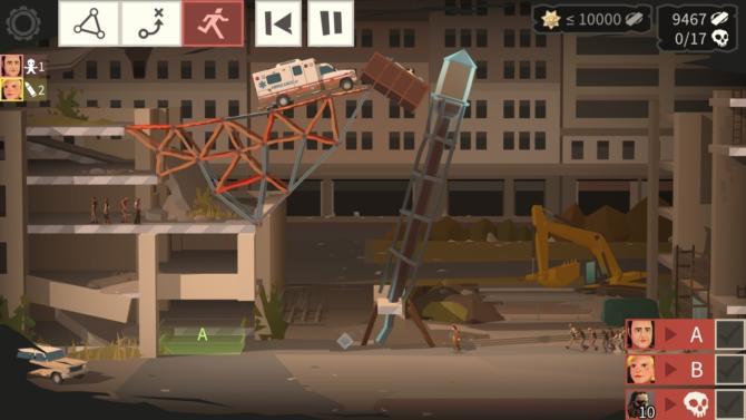 Bridge Constructor - The Walking Dead Gameplay Summary