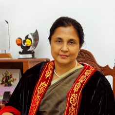 Photo - Prof Chandrika Wijeyaratne, Vice Chancellor, UOC