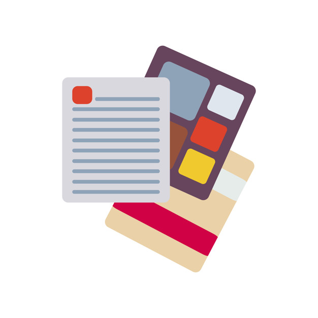 Illustration a document icon