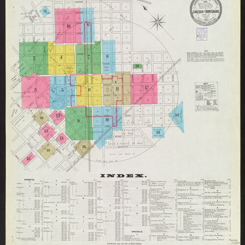 Including Map Arcola Illinois