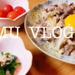 【Vlog】美容ダイエットにおすすめ牛丼🐮🍚Recommended beef bowl perfect for beauty diet🐮🍚