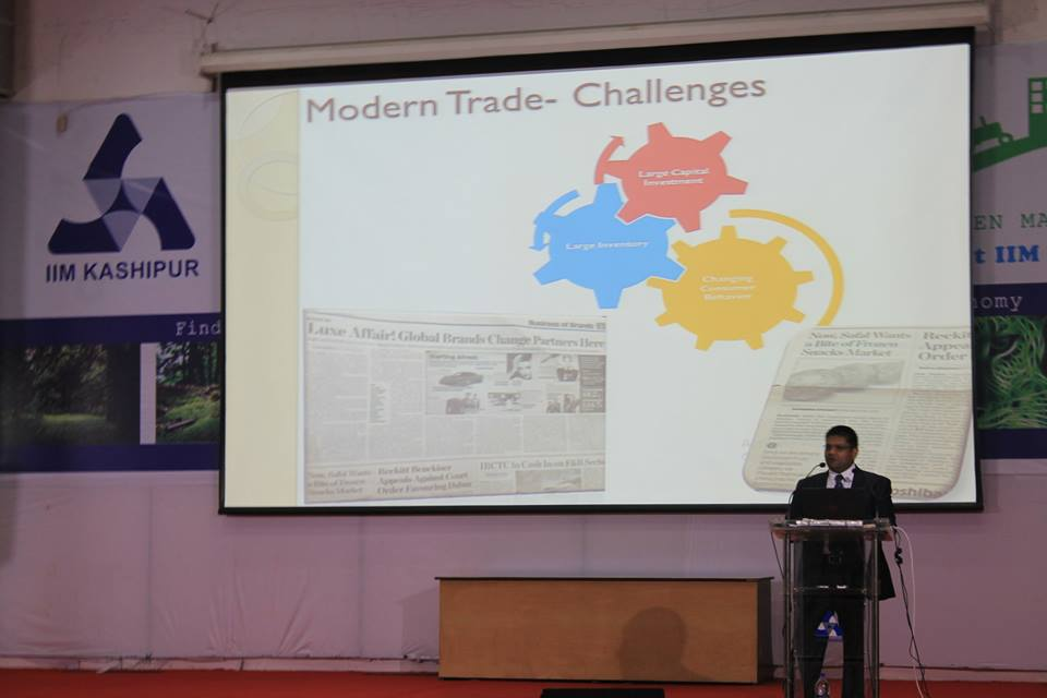 Guest lecture by Mr. Gaurav Saxena