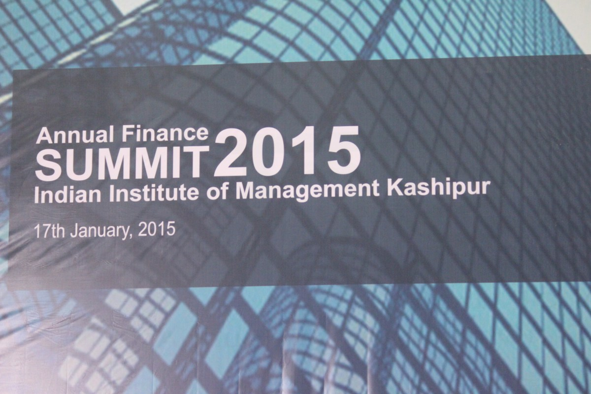 Manthan – The annual Finance Summit