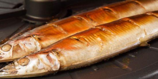 ザイザルで焼いた焼き魚画像