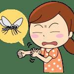 蚊は服の上から刺すの?服の色は?虫よけ出来る子供用のパーカーは?