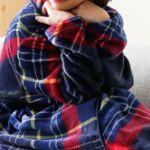 部屋の寒さと乾燥対策になる着る毛布の人気とおすすめは?