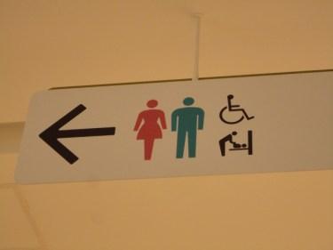 ぜひ知っておこう!様々なトイレ表記の形状や使い方について