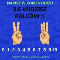 zagadka Policz palce