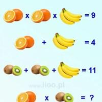 zagadka owocowa 5
