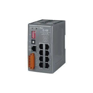 RS-408 CR : Switch/Ethernet/Redundant/8 ports