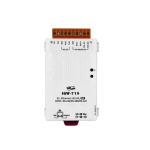 ICP DAS tGW-718 CR : Tiny/Gateway/Modbus RTU/TCP/PoE/1 RS-232/422/485