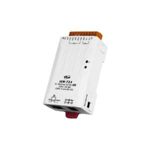 ICP DAS tGW-724 CR : Tiny/Gateway/Modbus RTU/TCP/PoE/1 RS-232/1 RS-485