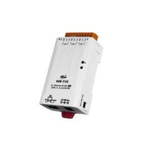 ICP DAS tGW-735 CR : Tiny/Gateway/Modbus RTU/TCP/PoE/3 RS-485