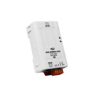 tNS-200IN-24V CR : PoE injector/Ethernet in/PoE Out /1 Ch./24V/15.4W