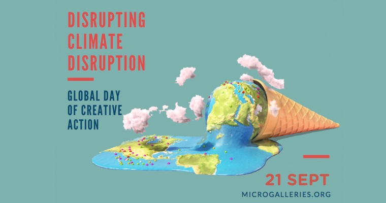 Micro Galleries: Disrupting Climate Disruption