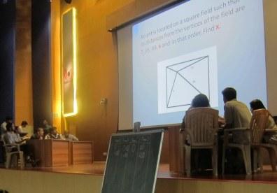 Mathematics Quiz: The big event of the day