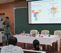 Plato meets Rubrik: Expert Rubik's solvers explained the way to solve the sequential move puzzles in the shape of platonic solids