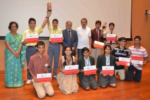 The winners and the other finalists
