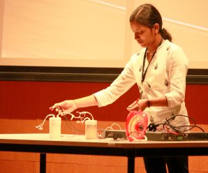 Demonstration of a supercapacitor