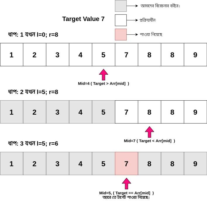Binary search using loop - iishanto.com