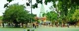 Outside Vishwanath Temple