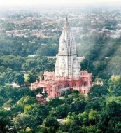 Aerial View of Vishwanath Temple