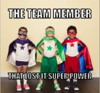 Dynamics 365 Team Member that lost super power