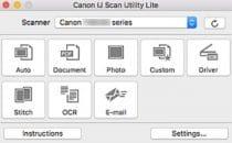 Canon IJ Scan Utility Lite