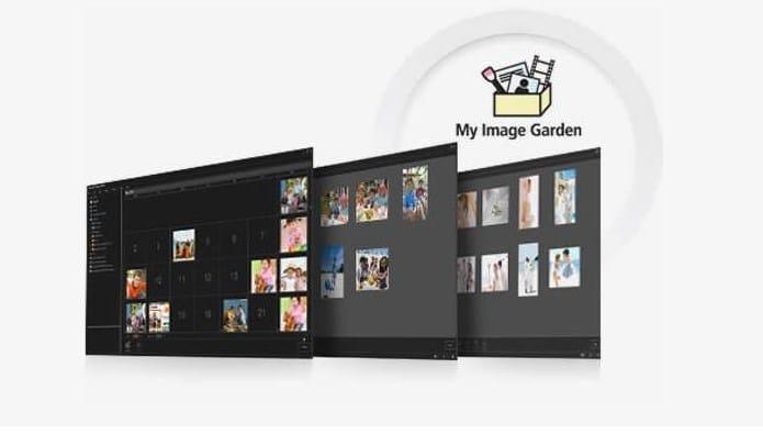 Canon Image Garden