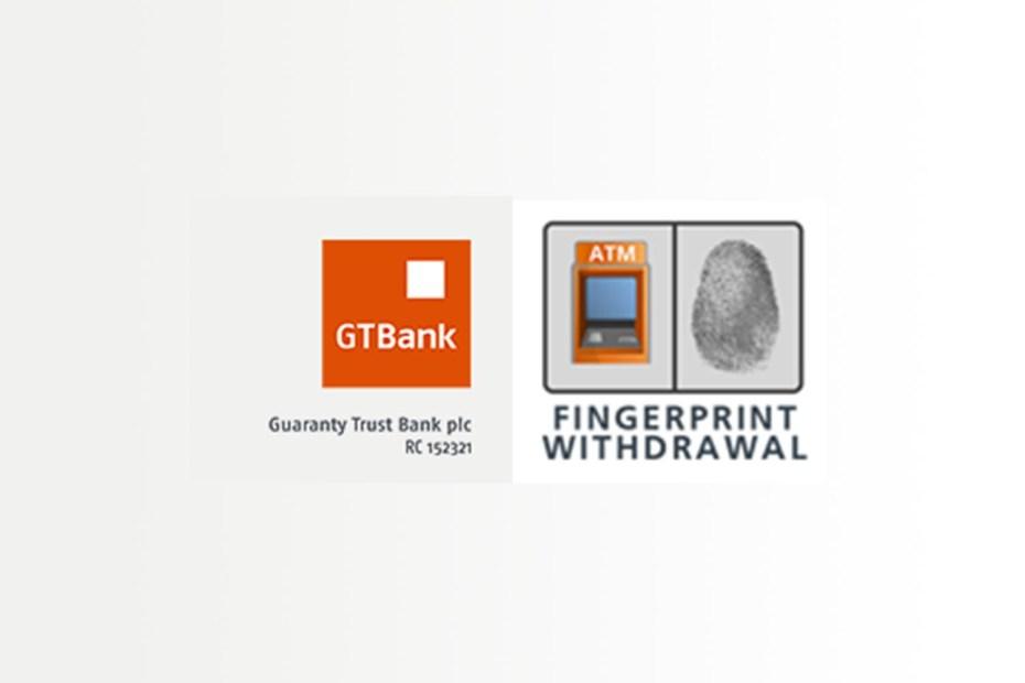 GTBank Fingerprint cash withdrawal