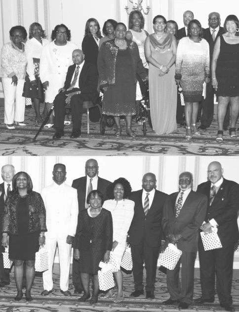 Former IJC Chairs honored 2