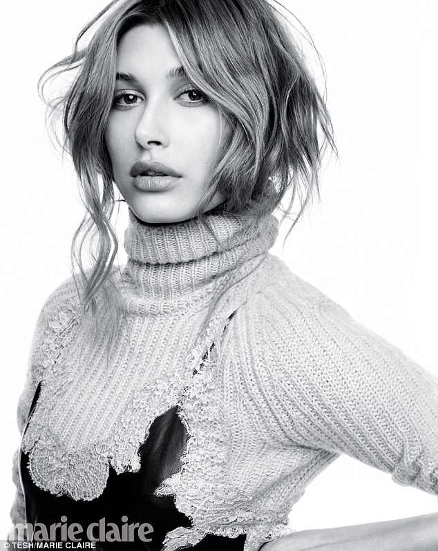 'Texts started coming through, crazy phone calls': Hailey Baldwin opens up about dating Justin Bieber in the new issue of Marie Claire for its Fresh Faces feature