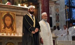 Imam-in-church