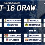 [#Football] : Champions League last-16 draw in full #UCL